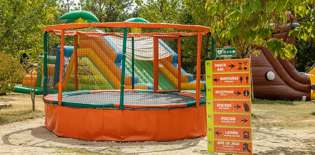 trampoline camping moissac
